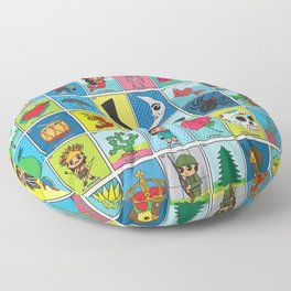 LOTERIA! Floor Pillow