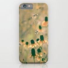 Yellow Prairie Mexican Hat Coneflower Meadow - Dreamy summer botanical iPhone 6s Slim Case