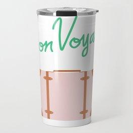 Bon Voyage \\ Suitcase Travel Mug