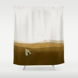 Architecture never dies #2 Shower Curtain