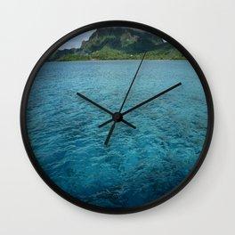 BoraBora, Queen of the Society Islands Wall Clock