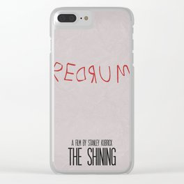 The Shining 02 Clear iPhone Case