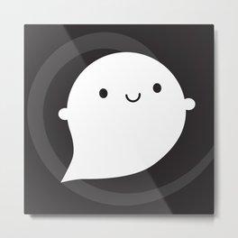 Spooky Wooky Ghost Metal Print