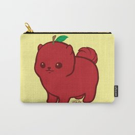 Apple Red Pom de Terrier Carry-All Pouch