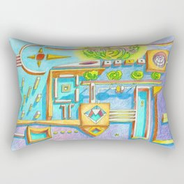 ...we both know we can´t go without it... Rectangular Pillow