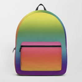 Pride Rainbow Flag Gradient Backpack