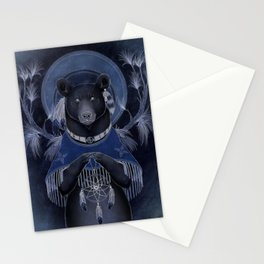 North american black bear Stationery Cards