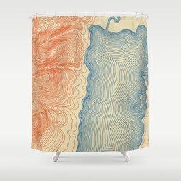 Jackson Lake Shower Curtain
