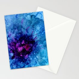 Amethyst Freeze Stationery Cards