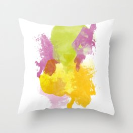 Aquarelle01 Throw Pillow