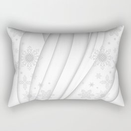 Abstract Christmas background Rectangular Pillow