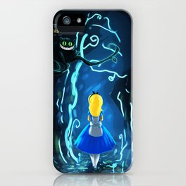 Alice in Wonderland | Cheshire Cat | I'm not crazy, my reality is just different than yours | Quote iPhone Case