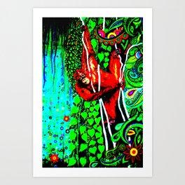 Hanging Around 2 Art Print