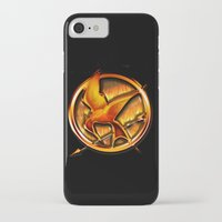 mockingjay iPhone & iPod Cases featuring Mockingjay by Joshua Epling