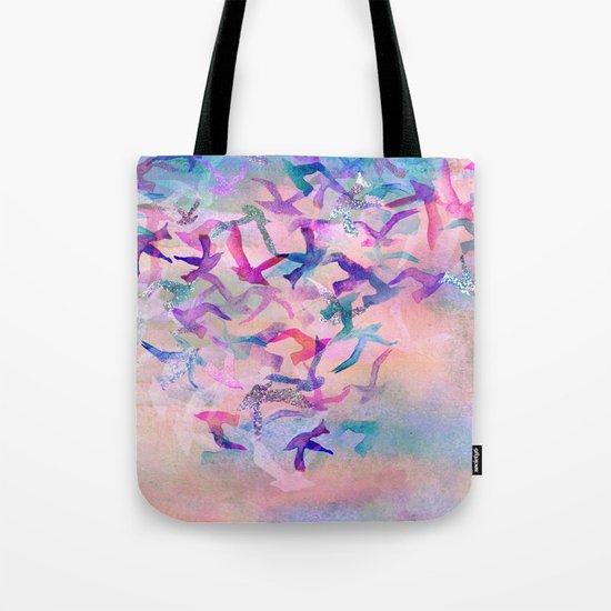 Birds Flight Home  Tote Bag