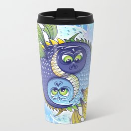 Monstrous Yin Yang Travel Mug