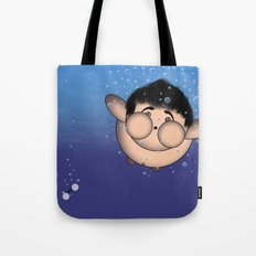 Take it all off and have a swim!!!! Tote Bag