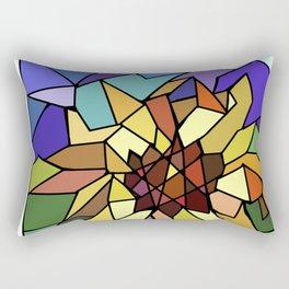 Glass Window Rectangular Pillow