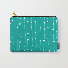 Handwriting Hearts VII Carry-All Pouch