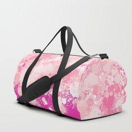 paint splatter on gradient pattern mii Duffle Bag