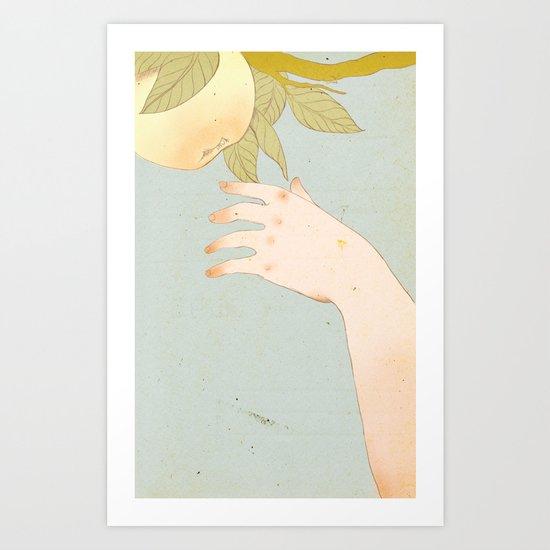 Reach version 2 Art Print