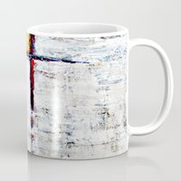 alone Mugs featuring Alone by Claudia McBain