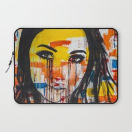The unseen emotions of her innocence Laptop Sleeve