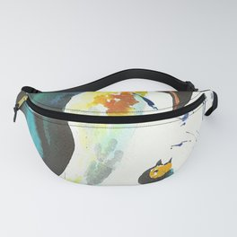 Mother and Baby Penguin Fanny Pack