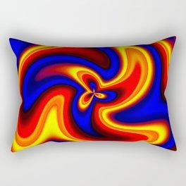 oscillate 2 Rectangular Pillow