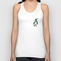 penguin Tank Tops featuring Penguin by gretzky