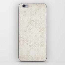 SILVER DAMASK iPhone Skin