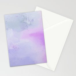 Soft Watercolours - Lavendar Stationery Cards