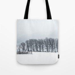White winter II Tote Bag