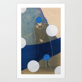 With My Own Two Hands Art Print