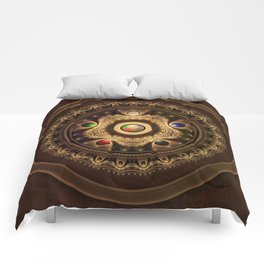 Gathering the Five Fractal Colors of Magic Comforters