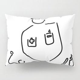 doctor with medicine utensils Pillow Sham