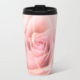 A rose is a rose - Wonderful pink Rose flower Travel Mug