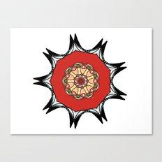 Japanese inspired mandala Canvas Print