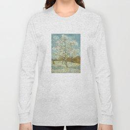 Vincent Van Gogh Peach Tree In Blossom Long Sleeve T-shirt