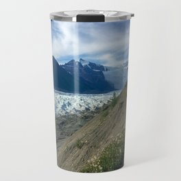 Trail To An Alaskan Glacier Travel Mug