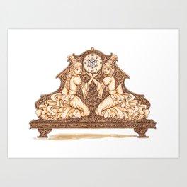 Rococo Art Print