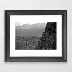 Waves of the West Framed Art Print