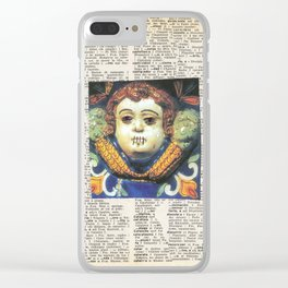 0220 Clear iPhone Case