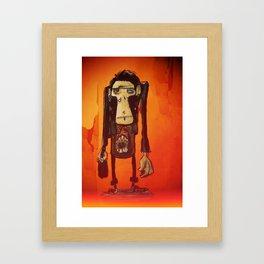 Hugues Monki Maton Framed Art Print
