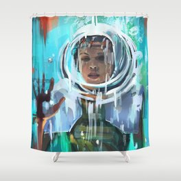StrangerThings Shower Curtain