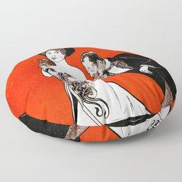More practical Affiche (Mere praktisk) Floor Pillow