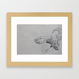 Hand Study 2 Framed Art Print