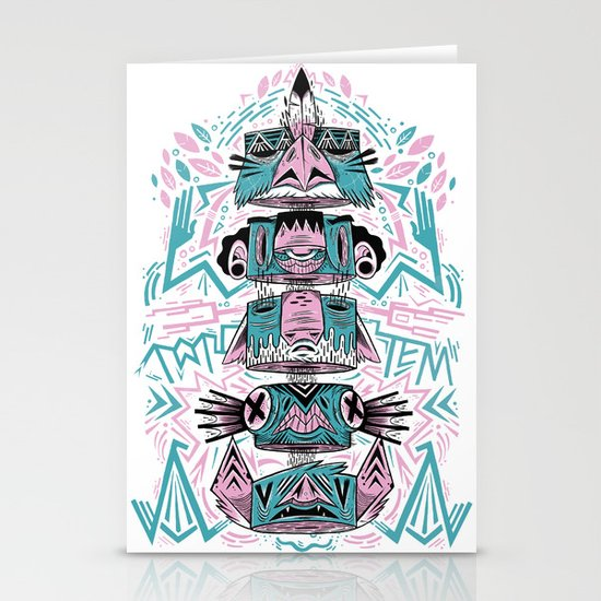 Toto-Tem Stationery Cards