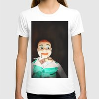 creepy T-shirts featuring Creepy Dummy by Colleen Farrell