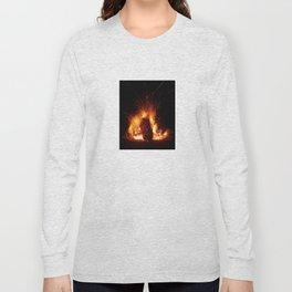 """""""Fire Photo 3"""" Long Sleeve T-shirt"""